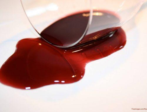 Banish Red Wine Stains