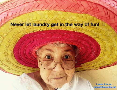 Never let laundry get in the way of fun!