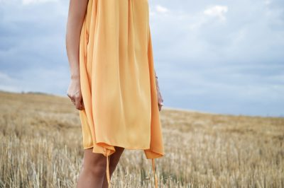Yellow dress - no more static buildup on clothes - Monarch Laundry tips