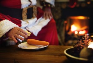 Stanta Claus and a carrot... Top 10 tips for stress-free Christmas and New Year - Monarch Laundry